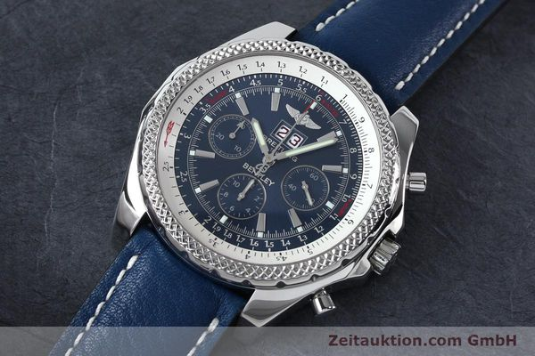 Used luxury watch Breitling Bentley chronograph steel automatic Kal. B44 ETA 2892A2 Ref. A44362  | 152119 01
