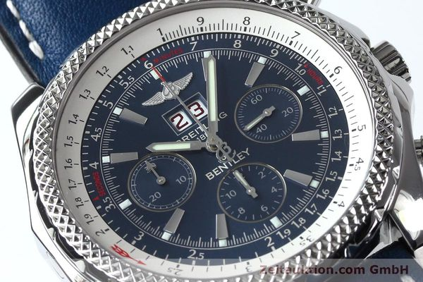 Used luxury watch Breitling Bentley chronograph steel automatic Kal. B44 ETA 2892A2 Ref. A44362  | 152119 02