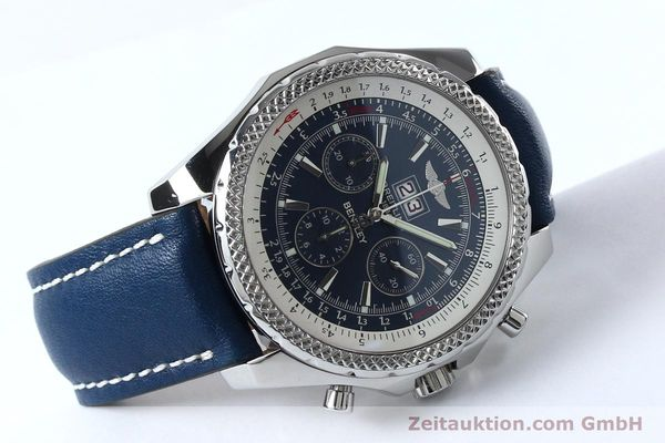 Used luxury watch Breitling Bentley chronograph steel automatic Kal. B44 ETA 2892A2 Ref. A44362  | 152119 03
