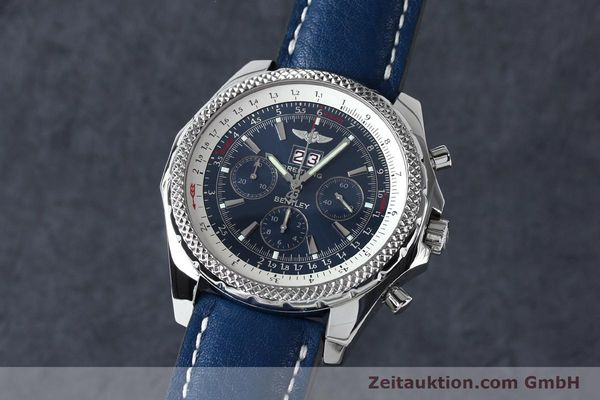 Used luxury watch Breitling Bentley chronograph steel automatic Kal. B44 ETA 2892A2 Ref. A44362  | 152119 04