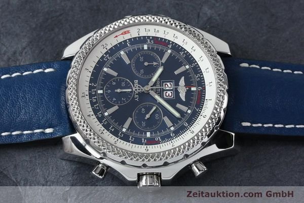 Used luxury watch Breitling Bentley chronograph steel automatic Kal. B44 ETA 2892A2 Ref. A44362  | 152119 05