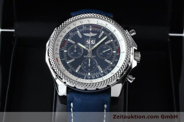Used luxury watch Breitling Bentley chronograph steel automatic Kal. B44 ETA 2892A2 Ref. A44362  | 152119 07