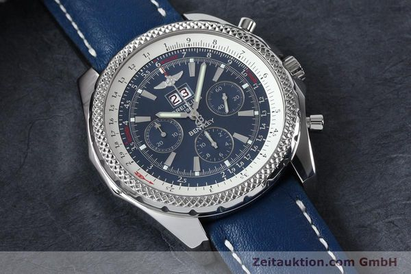 Used luxury watch Breitling Bentley chronograph steel automatic Kal. B44 ETA 2892A2 Ref. A44362  | 152119 12