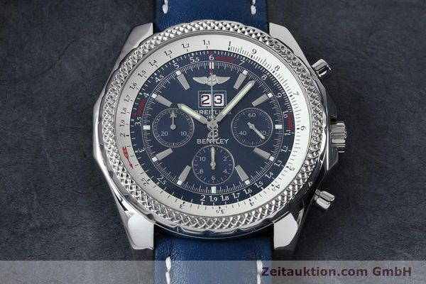 Used luxury watch Breitling Bentley chronograph steel automatic Kal. B44 ETA 2892A2 Ref. A44362  | 152119 13