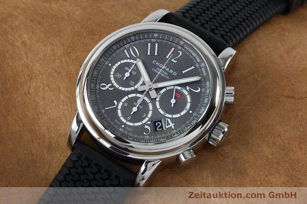 Used luxury watch Chopard Mille Miglia chronograph steel automatic Kal. ETA 2894-2 Ref. 8511  | 152126 01