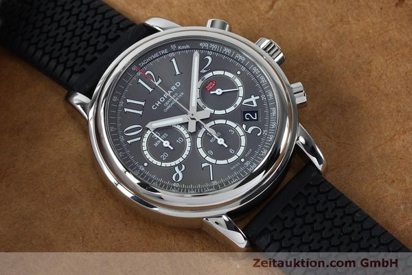 Used luxury watch Chopard Mille Miglia chronograph steel automatic Kal. ETA 2894-2 Ref. 8511  | 152126 16