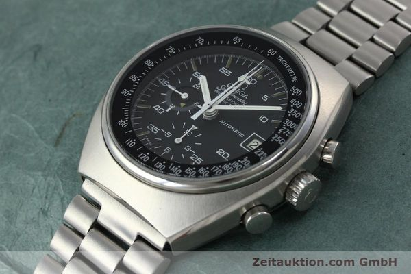 Used luxury watch Omega Speedmaster chronograph steel automatic Kal. 1040 Ref. 176.009  | 152131 01