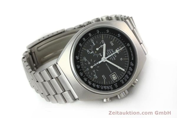 Used luxury watch Omega Speedmaster chronograph steel automatic Kal. 1040 Ref. 176.009  | 152131 03