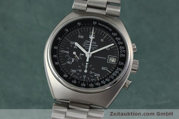 Used luxury watch Omega Speedmaster chronograph steel automatic Kal. 1040 Ref. 176.009  | 152131 04
