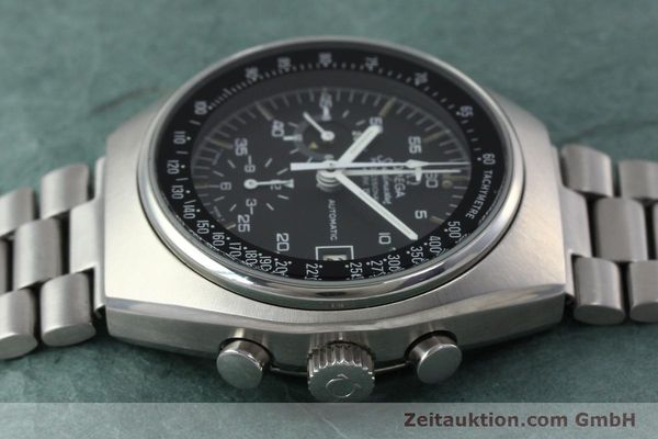 Used luxury watch Omega Speedmaster chronograph steel automatic Kal. 1040 Ref. 176.009  | 152131 05