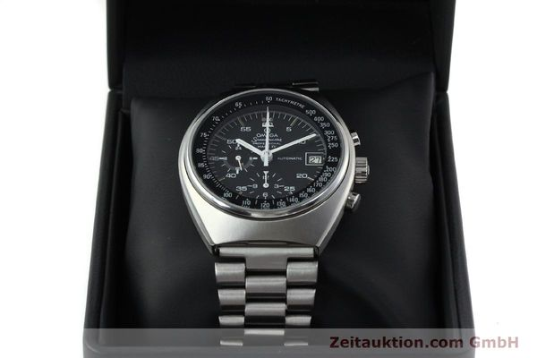 Used luxury watch Omega Speedmaster chronograph steel automatic Kal. 1040 Ref. 176.009  | 152131 07