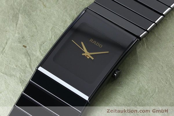 Used luxury watch Rado Diastar ceramic / steel quartz Ref. 205.0295.3  | 152132 01