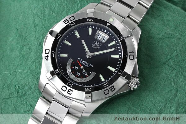 Used luxury watch Tag Heuer Aquaracer steel quartz Kal. Ronda 6004.B Ref. WAF1010  | 152133 01
