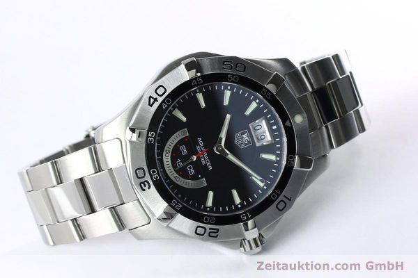 Used luxury watch Tag Heuer Aquaracer steel quartz Kal. Ronda 6004.B Ref. WAF1010  | 152133 03