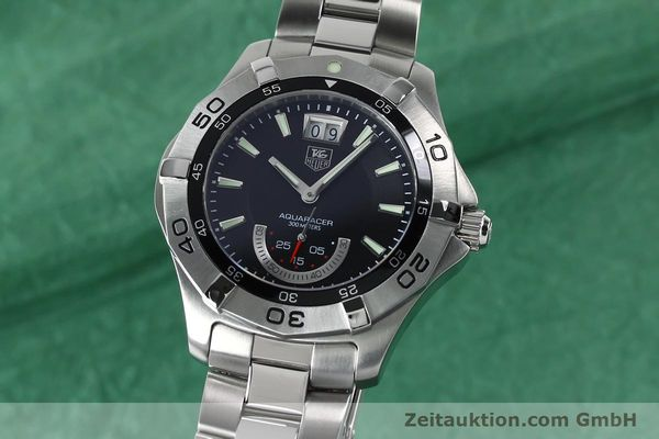 Used luxury watch Tag Heuer Aquaracer steel quartz Kal. Ronda 6004.B Ref. WAF1010  | 152133 04