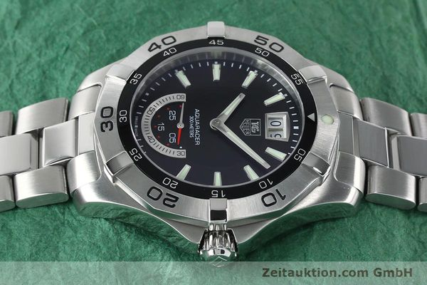 Used luxury watch Tag Heuer Aquaracer steel quartz Kal. Ronda 6004.B Ref. WAF1010  | 152133 05