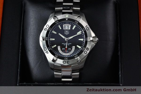 Used luxury watch Tag Heuer Aquaracer steel quartz Kal. Ronda 6004.B Ref. WAF1010  | 152133 07