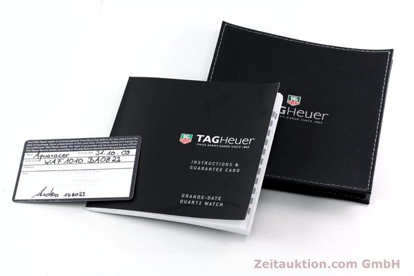 Used luxury watch Tag Heuer Aquaracer steel quartz Kal. Ronda 6004.B Ref. WAF1010  | 152133 11