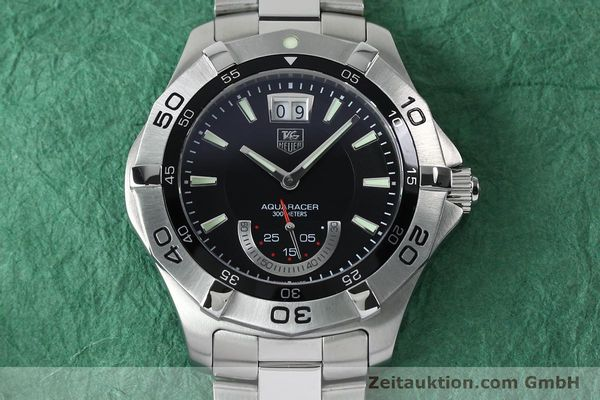 Used luxury watch Tag Heuer Aquaracer steel quartz Kal. Ronda 6004.B Ref. WAF1010  | 152133 15