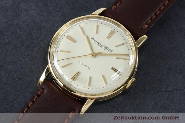 Used luxury watch IWC Portofino 18 ct gold automatic Kal. 853 VINTAGE  | 152135 01
