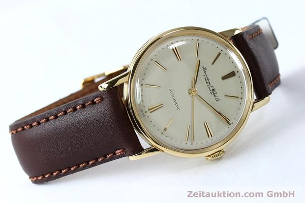 Used luxury watch IWC Portofino 18 ct gold automatic Kal. 853 VINTAGE  | 152135 03