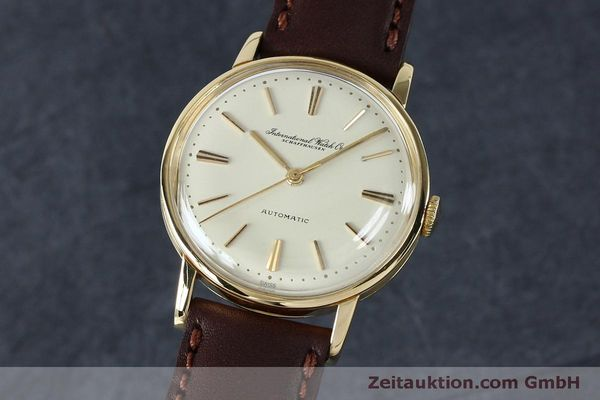 Used luxury watch IWC Portofino 18 ct gold automatic Kal. 853 VINTAGE  | 152135 04