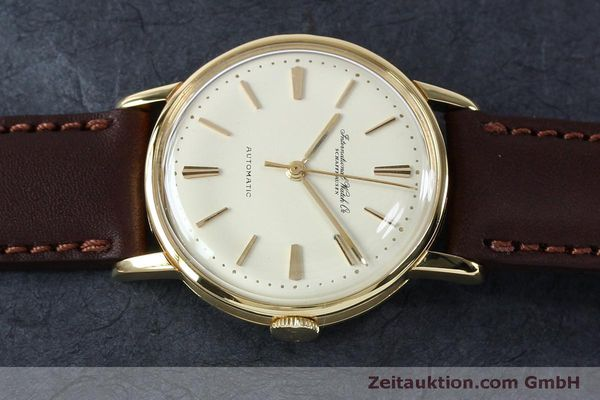 Used luxury watch IWC Portofino 18 ct gold automatic Kal. 853 VINTAGE  | 152135 05