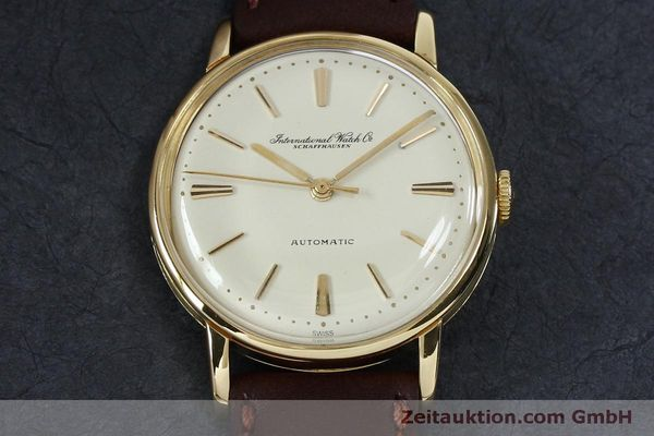 Used luxury watch IWC Portofino 18 ct gold automatic Kal. 853 VINTAGE  | 152135 13