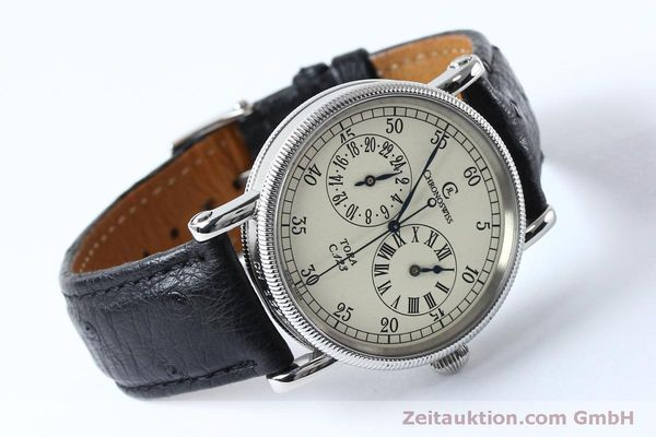 Used luxury watch Chronoswiss Tora steel automatic Kal. 123 Ref. CH1323  | 152137 03
