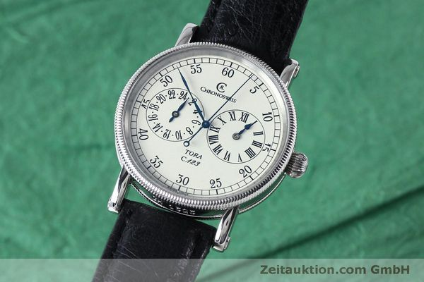 Used luxury watch Chronoswiss Tora steel automatic Kal. 123 Ref. CH1323  | 152137 04