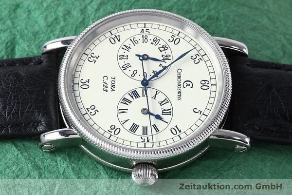 Used luxury watch Chronoswiss Tora steel automatic Kal. 123 Ref. CH1323  | 152137 05