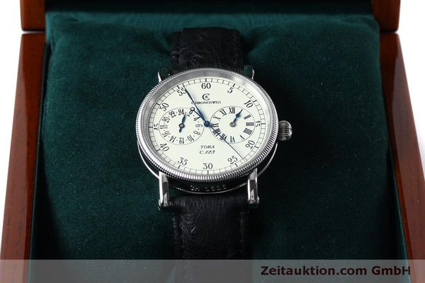 Used luxury watch Chronoswiss Tora steel automatic Kal. 123 Ref. CH1323  | 152137 07
