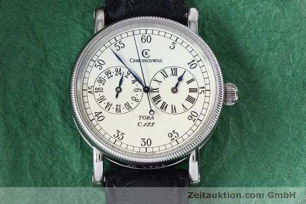 Used luxury watch Chronoswiss Tora steel automatic Kal. 123 Ref. CH1323  | 152137 16
