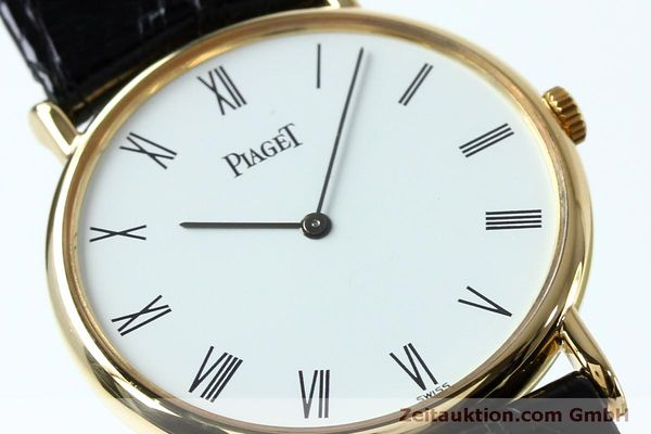 Used luxury watch Piaget * 18 ct gold manual winding Kal. 9P2 Ref. 9025N  | 152141 02