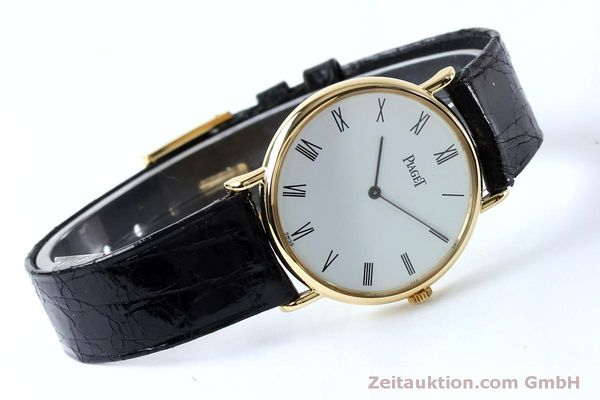 Used luxury watch Piaget * 18 ct gold manual winding Kal. 9P2 Ref. 9025N  | 152141 03