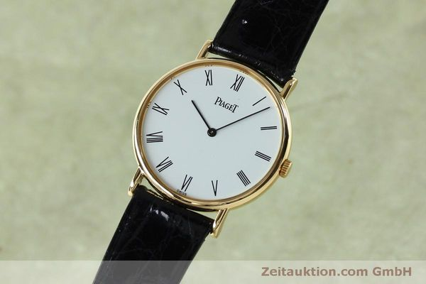 Used luxury watch Piaget * 18 ct gold manual winding Kal. 9P2 Ref. 9025N  | 152141 04