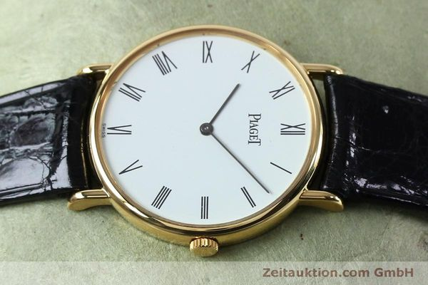 Used luxury watch Piaget * 18 ct gold manual winding Kal. 9P2 Ref. 9025N  | 152141 05