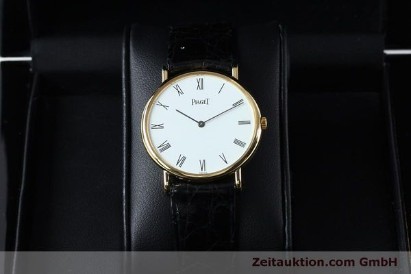 Used luxury watch Piaget * 18 ct gold manual winding Kal. 9P2 Ref. 9025N  | 152141 07