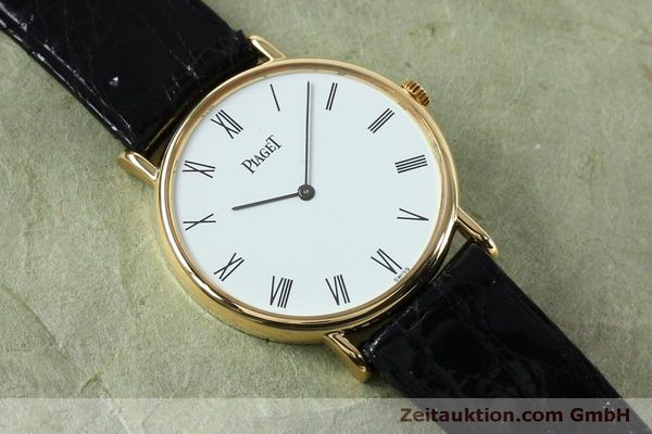 Used luxury watch Piaget * 18 ct gold manual winding Kal. 9P2 Ref. 9025N  | 152141 14