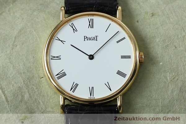 Used luxury watch Piaget * 18 ct gold manual winding Kal. 9P2 Ref. 9025N  | 152141 15