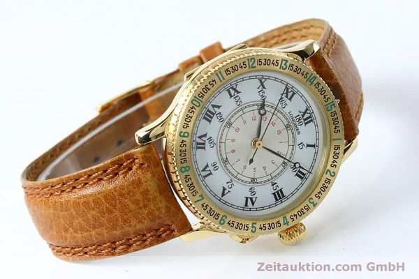 Used luxury watch Longines Lindbergh Stundenwinkel 18 ct gold automatic Kal. L989.2 Ref. 989.5216  | 152142 03