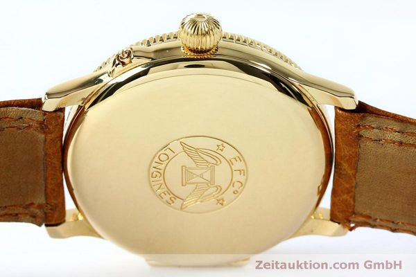 Used luxury watch Longines Lindbergh Stundenwinkel 18 ct gold automatic Kal. L989.2 Ref. 989.5216  | 152142 11