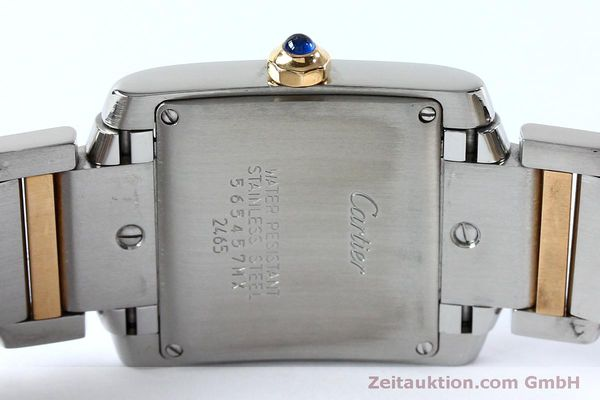 Used luxury watch Cartier Tank steel / gold quartz Kal. 175N  | 152148 09