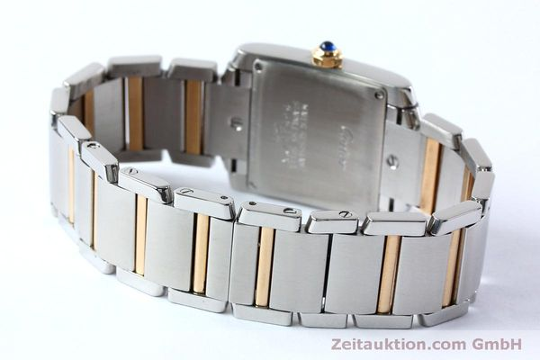 Used luxury watch Cartier Tank steel / gold quartz Kal. 175N  | 152148 10