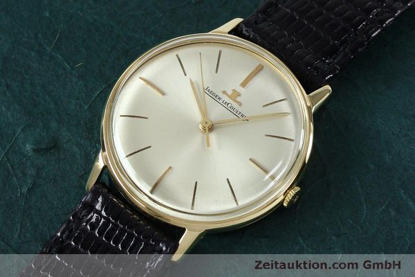 Used luxury watch Jaeger Le Coultre * 18 ct gold manual winding Kal. 800/C VINTAGE  | 152149 01