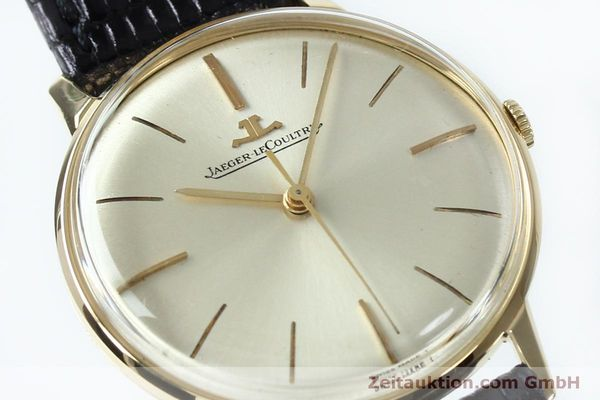 Used luxury watch Jaeger Le Coultre * 18 ct gold manual winding Kal. 800/C VINTAGE  | 152149 02