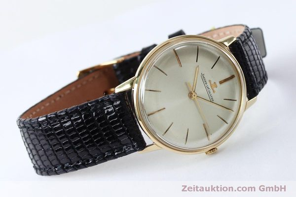 Used luxury watch Jaeger Le Coultre * 18 ct gold manual winding Kal. 800/C VINTAGE  | 152149 03
