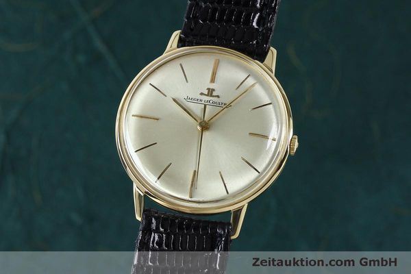 Used luxury watch Jaeger Le Coultre * 18 ct gold manual winding Kal. 800/C VINTAGE  | 152149 04