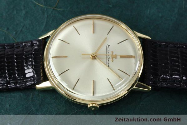 Used luxury watch Jaeger Le Coultre * 18 ct gold manual winding Kal. 800/C VINTAGE  | 152149 05