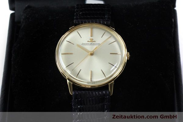 Used luxury watch Jaeger Le Coultre * 18 ct gold manual winding Kal. 800/C VINTAGE  | 152149 07